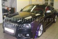 Audi S5 стайлинг плёнкой хамелеон