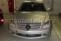 Mercedes затемнение фар