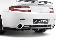 Раздельный (3 части) задний диффузор Hamann